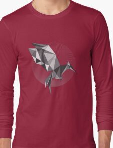 Catching Fire - Every revolution begins with a Spark BW Long Sleeve T-Shirt