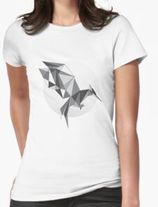 Catching Fire - Every revolution begins with a Spark BW Womens Fitted T-Shirt