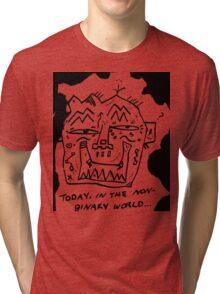Non-Binary (Black) Tri-blend T-Shirt