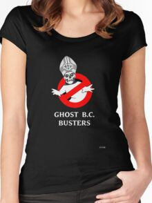 Who you gonna call? Papa Emeritus! Women's Fitted Scoop T-Shirt