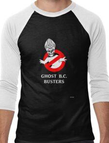 Who you gonna call? Papa Emeritus! Men's Baseball ¾ T-Shirt