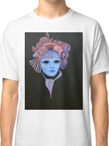 Mask with Mauve Headdress Classic T-Shirt