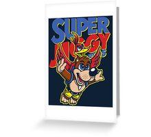 Super Jiggy Bros Greeting Card