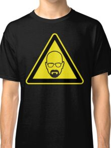 Walter White Warning Classic T-Shirt