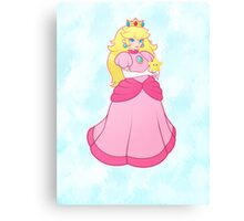 princess peach Canvas Print