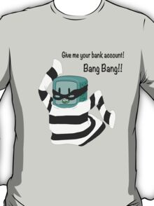 BMO the Bank Robber! (Adventure Time) T-Shirt