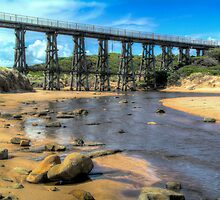 Kilcunda Railway Bridge #2 by Bette Devine