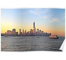 One World Trade Center (aka Freedom Tower) Poster