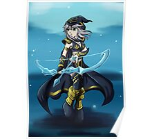 League of legends Ashe poster Poster