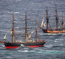Tall Ships by Michael Clarke