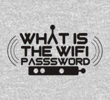 What Is The Wifi Password by mralan