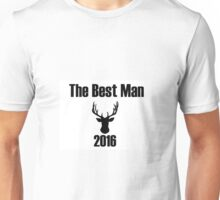 "Stag do 2016 ""Best Man"" Unisex T-Shirt"