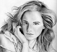 Emma Watson sketch by Chris Neal