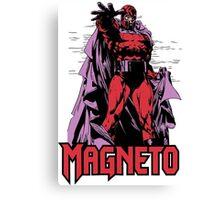 Magneto Canvas Print
