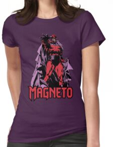 Magneto Womens Fitted T-Shirt