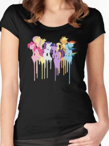 My Little Pony: Mane 6 Women's Fitted Scoop T-Shirt