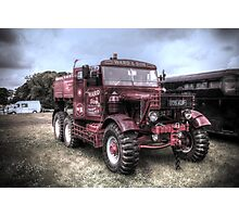 Old heavy haulage vehicle  Photographic Print