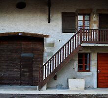 Typical Old French House. Ferney-Voltaire by Igor Pozdnyakov