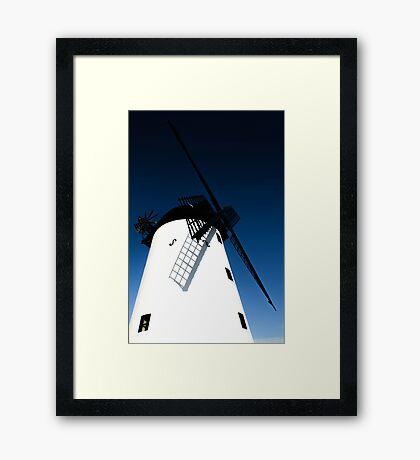Lytham Windmill Framed Print