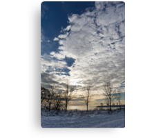 The Pearly Cloud  Canvas Print