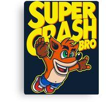 Super Crash Bro Canvas Print