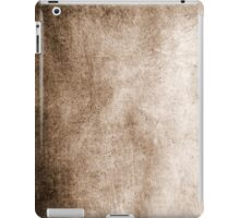 Sepia iPad Case Retro Old Beautiful Vintage Brown Monochrome Texture iPad Case/Skin