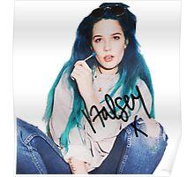 Halsey x Poster