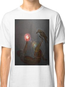 crow at night  Classic T-Shirt