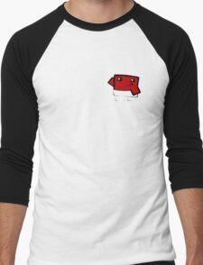 Super meat boy (in your pocket) Men's Baseball ¾ T-Shirt