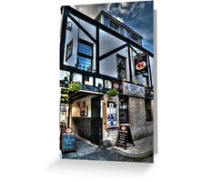 Red Lion Greeting Card