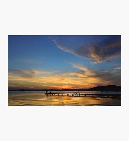 Belmont Sunset - NSW Australia Photographic Print