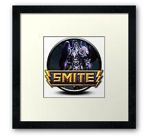 Smite Thanatos Logo Framed Print