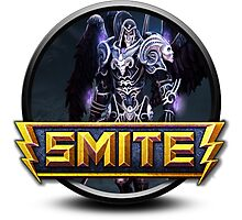 Smite Thanatos Logo Photographic Print