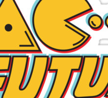 Pac to the Future  Sticker