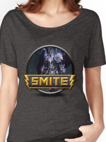 Smite Thanatos Logo Women's Relaxed Fit T-Shirt