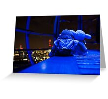 Romance on the London Eye Greeting Card