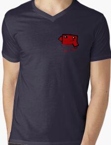 Super meat boy (in your pocket) Mens V-Neck T-Shirt