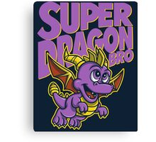 Super Dragon Bro Canvas Print