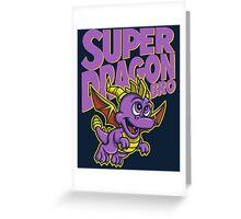 Super Dragon Bro Greeting Card