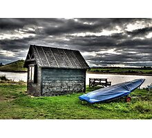 Yacht Club Hut Photographic Print