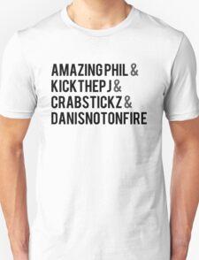 Fantastic Foursome T-Shirt