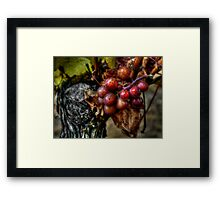 The Crown Of Life ~ Grapes ~ Framed Print