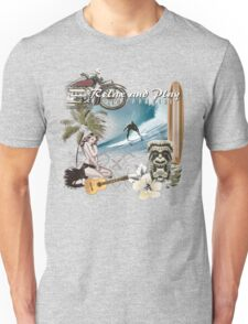 retro beach Unisex T-Shirt