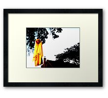 Dawn of the Ghost Framed Print