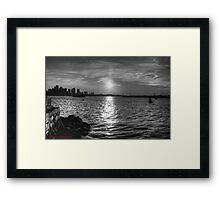 Boston Harbor Framed Print