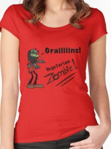 Zombie Grains Women's Fitted Scoop T-Shirt