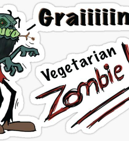 Zombie Grains Sticker