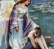 GARDEN OF GRIEF ~ MY ANGEL COMES TO ME by Tammera