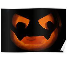 Scary Jack O Lantern Poster