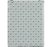 Studded Double Polka Stud on Slate Green Mist 1 iPad Case/Skin